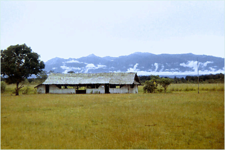 Robbins - Goropu Mtns (Suckling) from Safia Anglican Mission