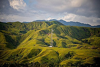 Digital tower PNG