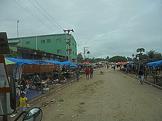 Kerema - The only main street in K-town