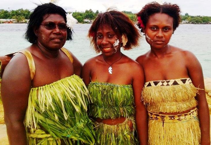 Mona - Bougainville women