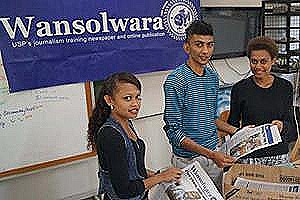 Wansolwara student journalists