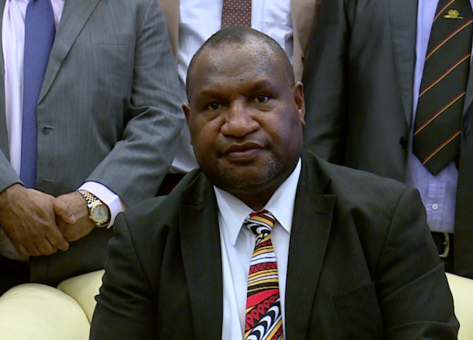 James Marape - unhappy with Australia's delays in removing refugees from Manus (EMTV)