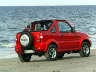 Little red Suzuki Jimny