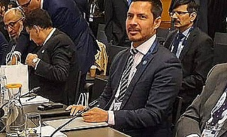 Bryan Kramer at the anti-money laundering conference