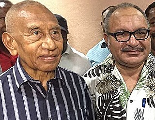 Julius Chan and Peter O'Neill