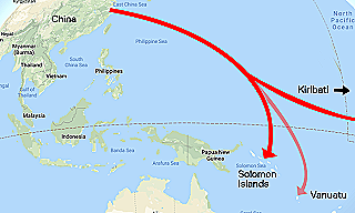 China-South-Pacific-Influence