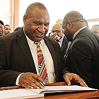 James Marape (Prime  Minister's Office)