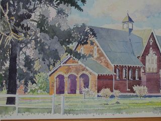 'The Church' - a painting by Russell Kranz