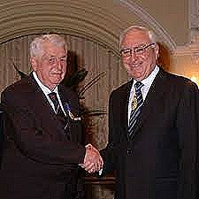 Bottrill receives OAM from WA governor Ken Michael