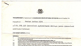 Cover page original contract dated 4 December 1979