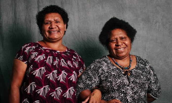 Brenda Samson and Lilly Be'Soer of Voice for Change (Gemma Carr)