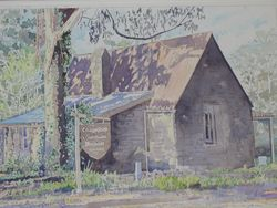 'The Old Gatehouse' - a painting by Russell Kranz