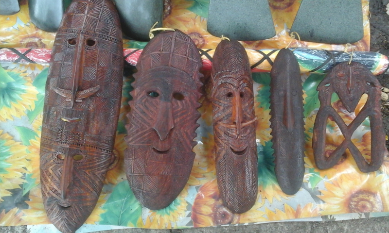 Carvings from imagination by Simeon Nikints (Peter Kinjap)