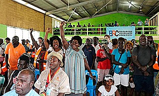 Members of the Bougainville Women's Federation