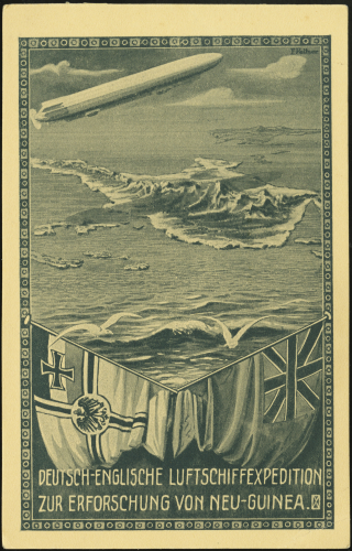 Poster 1913 airship expedition
