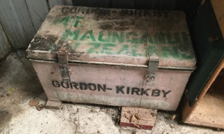 John Gordon-Kirkby's old patrol box