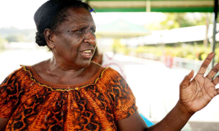 Margaret Melke has been a nurse in East New Britain for more than 40 years