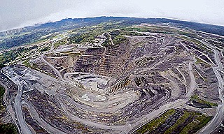 PJV gold mine west of Porgera