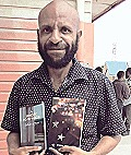 Ray & his books of poetry