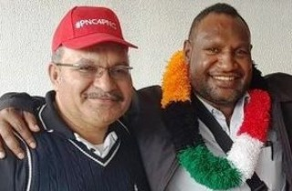 James Marape & O'Neill (PNG PM Media Office)