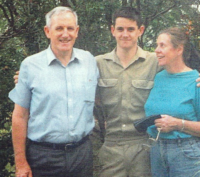 Hardy Graham  son Ben and Patricia  mid-1990s