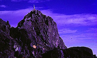 Mt Wilhelm peak  1974