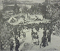 Tole village one hour b4 attack - 1934