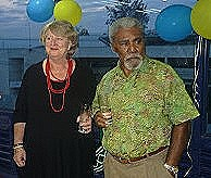 Lady Ros and Sir Mek  Goroka  September 2010
