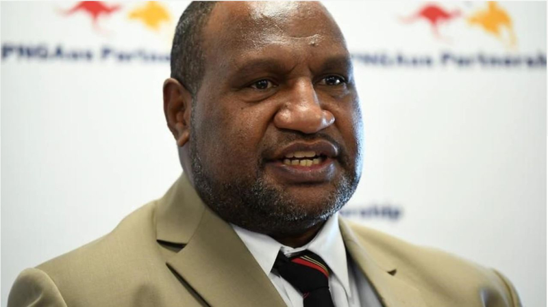 James Marape says PNG's health system cannot deal with a widespread outbreak of coronavirus (AAP)