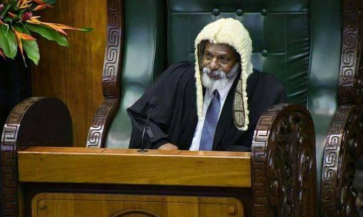 Speaker Job Pomat says the motion by Opposition leader Belden Namah to adjourn parliament is not right. Under the organic law and parliament standing order only a minister can adjourn parliament