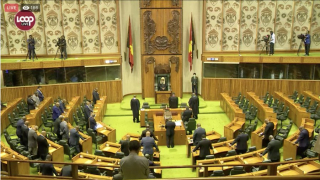 Empty opposition benches