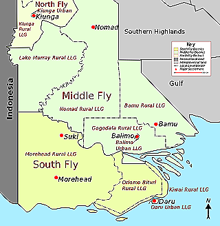 Middle Fly map