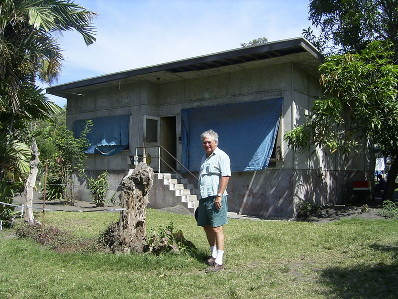 2 House in 2nd 22nd Street  Rabaul  where we lived in 1970