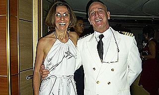 Ingrid with Captain Peter Greenhow