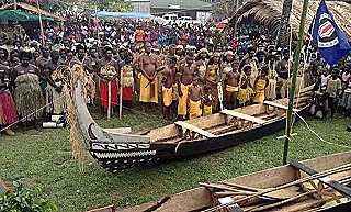 Bougainville traditional mona