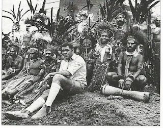 Jerry Nalau when District Commissioner in Simbu  Independence Day  1975 (James Sinclair)