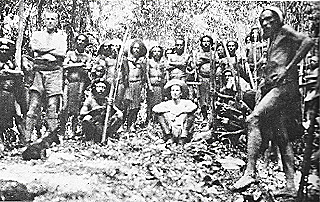 Akmana gold prospecting field party  1930
