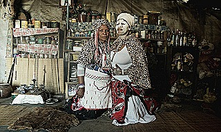 Sangoma - traditional healers of South Africa