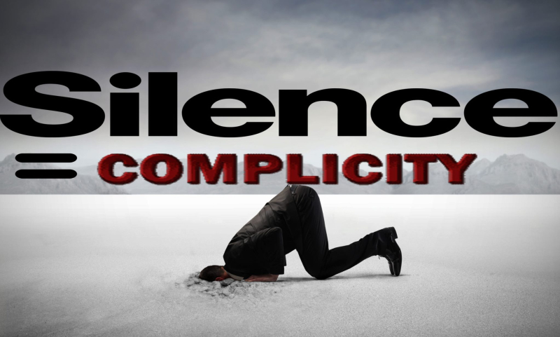 Complicit-silence