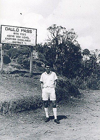 Keith at Daulo Pass  January 1965