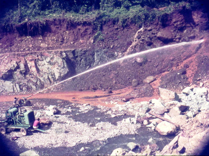 Brown - Pic 7 - Hydraulic clearing (Bill Brown)