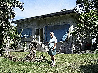 House in 2nd 22nd Street  Rabaul  where we lived in 1970