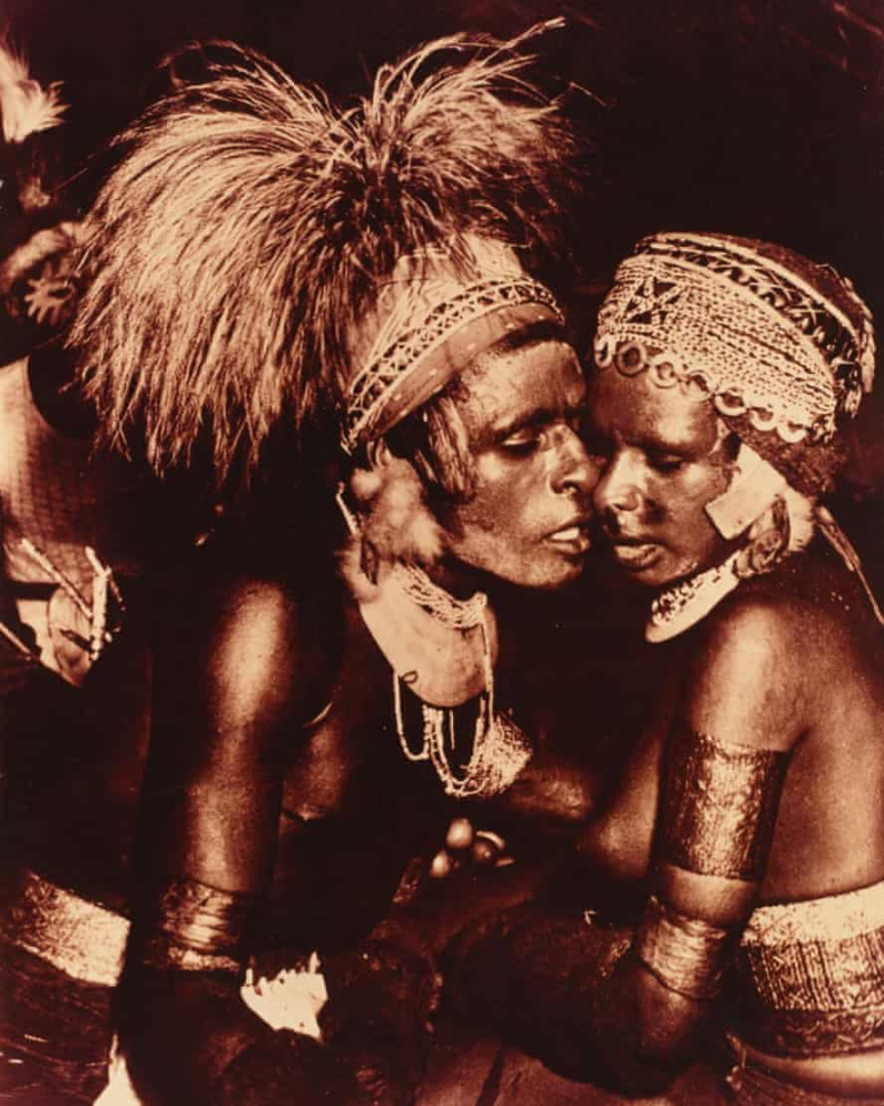 The group enables the PNG people to connect with their past (Australian National Library)