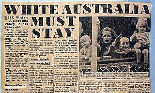 The Daily Mirror (Sydney)  11 March 1954 The White Australia Policy officially ended in 1958