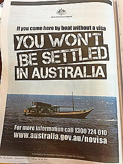 The present day rendition of legalised racism 'You Won't Be Settled In Australia'