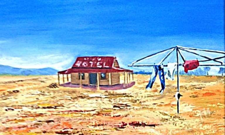 The Outback Pub  by Margie Langtip