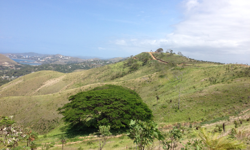The Port-Moresby-Hills