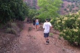 Andrew with the Chiang Mai Hash House Harriers