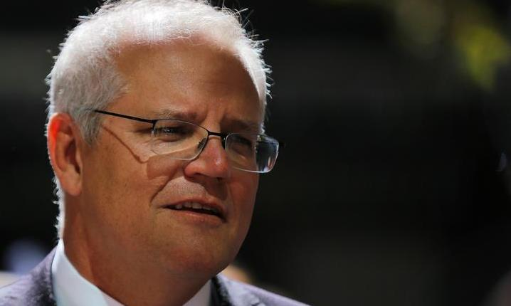 Australian Prime Minister Scott Morrison says Pacific island countries are family (AFP)